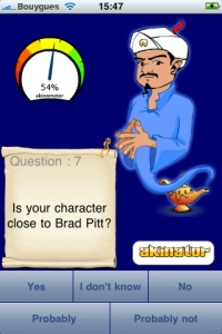 Akinator Magic Lamp